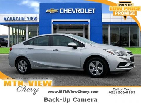 Certified Pre-Owned 2017 Chevrolet Cruze LS CERTIFIED